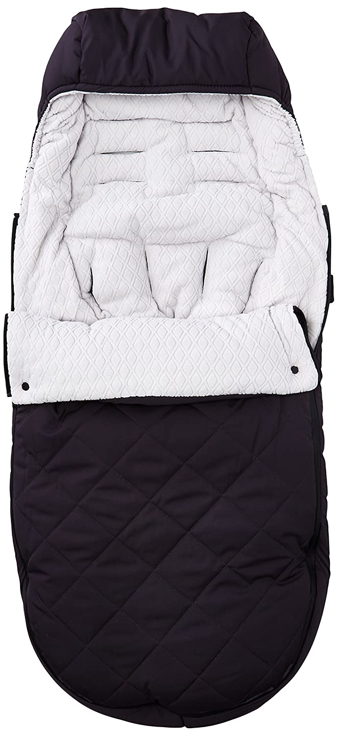 UPPAbaby CozyGanoosh Footmuff, Jake (Black) 0230-JKE