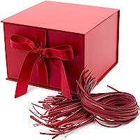 Hallmark - Caja de regalo, Rojo, L (Grande)