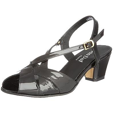 2b695a1decccc Van Dal Women's Libby II Open Toe Sandals, Black Patenet, 3 UK 36 EU