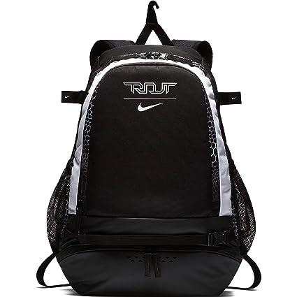 e8a612a08141 Amazon.com   Nike Men s Trout Vapor Baseball Backpack Black White ...