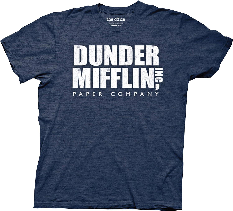 Ripple Junction Men's Vintage The Office Dunder Mifflin T-Shirt