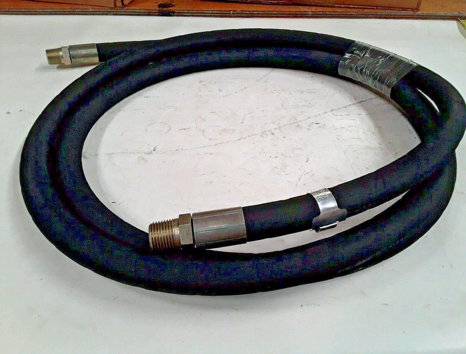 Power Parts Hydraulic Hose 1/2'' ID 34'' Long w/1/2'' Thread M-88
