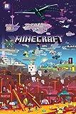 "GB eye ""Minecraft, World Beyond"" Maxi Poster, Multi-Colour"