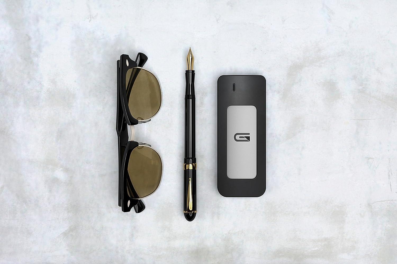 Glyph 525 GB Atom USB 3.1 Type-C External Solid State Drive Black
