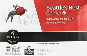 Seattle's Best, Single Serve K-Cup Coffee, 3.5oz Box (Pack of 3) (Choose Flavors Below) (House Blend)