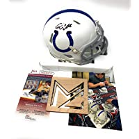 $109 » Quenton Nelson Signed Autograph Speed Mini Helmet JSA Witnessed Certified