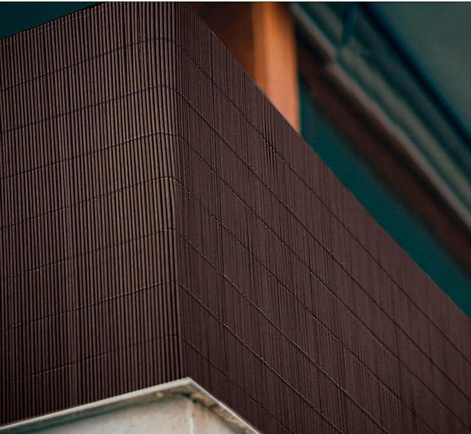 Comercial Candela CAÑIZO PVC Marron Ovalado 1, 5X3 Metros: Amazon.es: Jardín