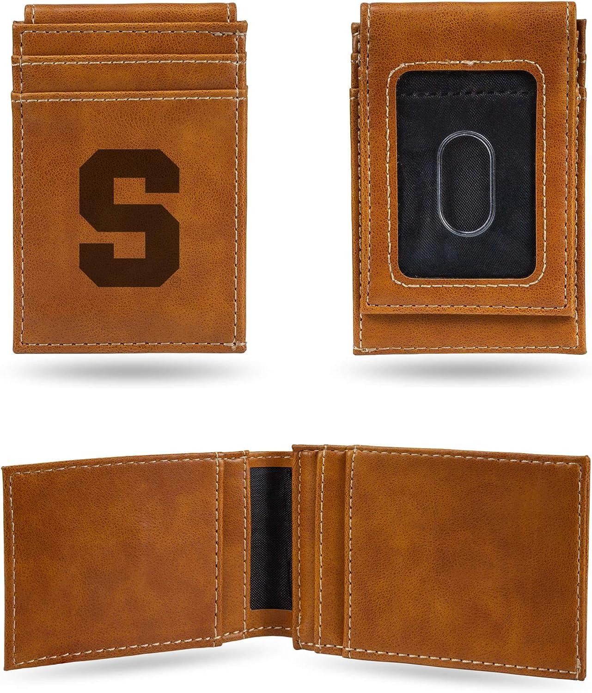 Syracuse Orange NCAA Rico Industries Laser Engraved Billfold Wallet