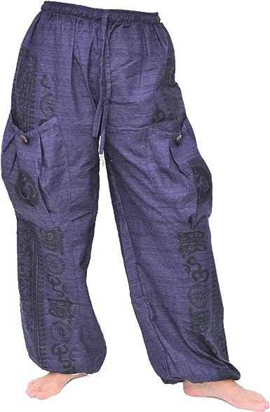 drop crotch pants baggy pants 0071 Aladdin Goa clothing Harem pants Maharaja trousers hippie trousers Aladdin trousers