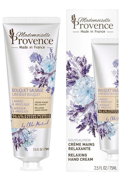 Lavandeamp; – 96 Made Relaxante Angélique France Provence In Crème Mains 4D'origine Naturelle Mademoiselle TPkXuZiwO