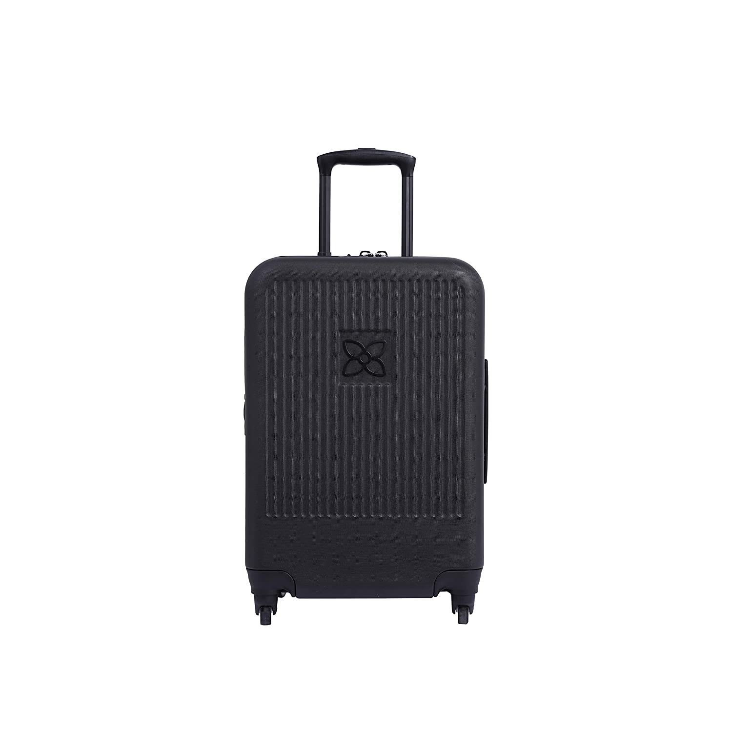 Sherpani Meridian, Lightweight Carry On Hardside Travel Luggage with Spinner Wheels