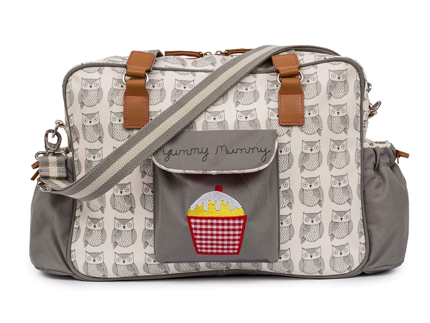 Pink Lining Yummy Mummy Baby Changing Nappy Bag - Wise Owl