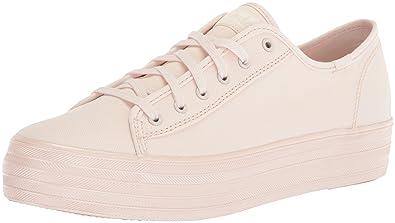 47b05081afcc Amazon.com | Keds Women's Triple Kick Shimmer Fashion Sneaker ...