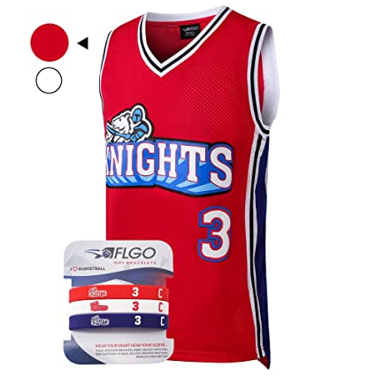a32ec897f716 AFLGO Calvin Cambridge  3 LA Knights Basketball Jersey S-XXXL – 90 s  Clothing Throwback Costume Athletic Apparel Clothing Top Bonus Combo Set  with ...