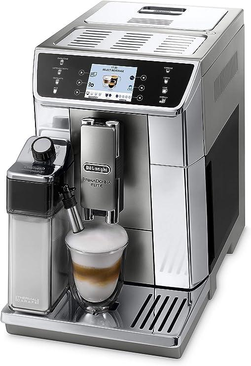 Cafetera automática DeLonghi PrimaDonna Elite ECAM 656.55.MS con ...