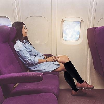 Compression Socks Flight Varicose Vein Stocking Running Anti Fatigue Men Women