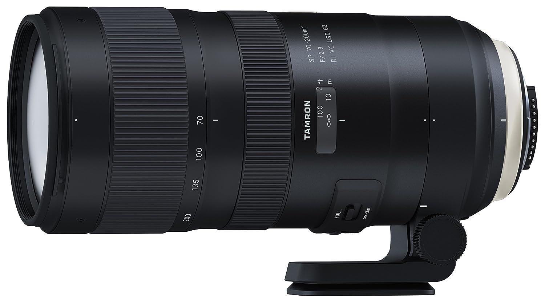 TAMRON 大口径望遠ズームレンズ SP 70-200mm F2.8 Di VC USD G2 ニコン用 フルサイズ対応 A025N レンズのみ  B01MZI83NO