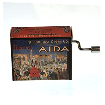 CAJA MUSICAL OPERA CLASICA TRIUMPHAL MARCH: Varios: Arts, Crafts & Sewing