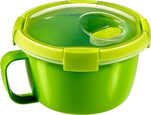 Curver - hermético Redondo Smart To Go Sopa & Noodles 0,9L. - Apto ...