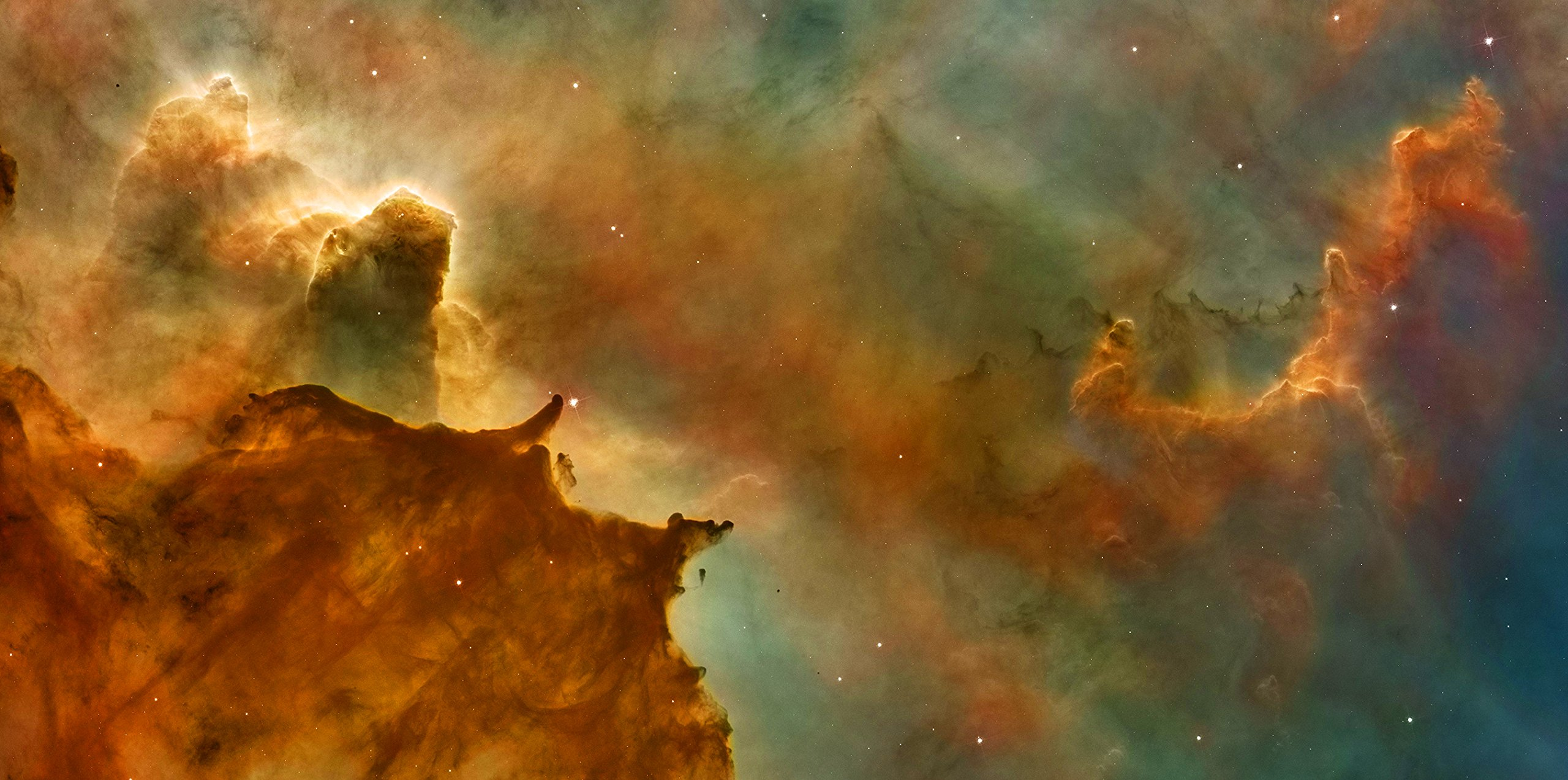 Stellar Nebula - 2ft x 4ft Drop Ceiling Fluorescent Decorative Ceiling Light Cover Skylight Film