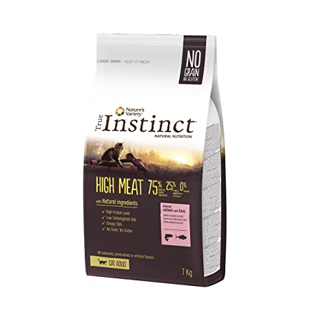 True Instinct High Meat Pienso para Gatos Adultos con Salmón - 7KG