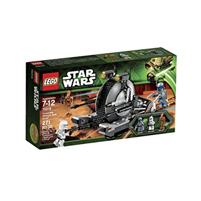 LEGO Star Wars Corporate Alliance Tank Droid (Discontinued by manufacturer): Toys & Games
