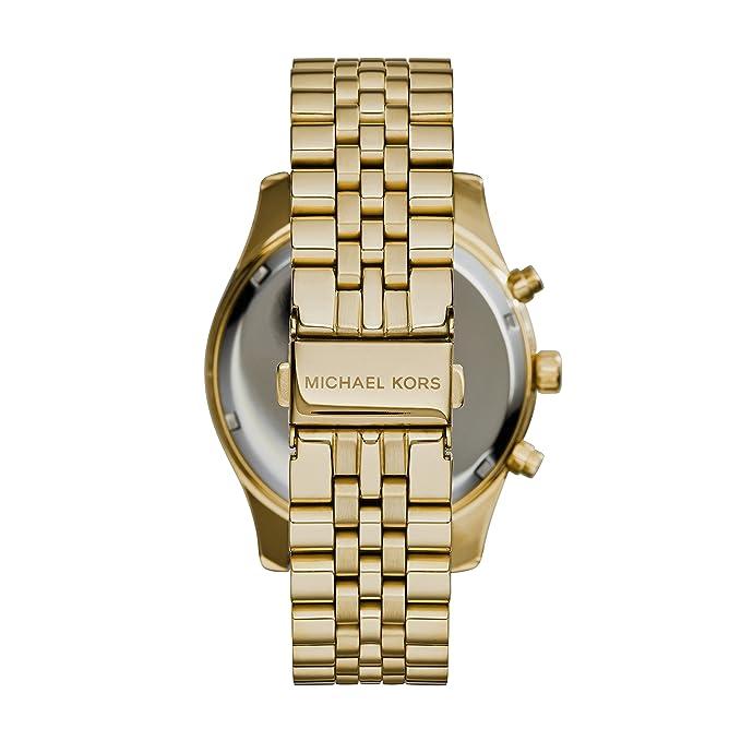 9b3a17da71a5 Amazon.com  Michael Kors Men s Lexington Gold-Tone Watch MK8286  Michael  Kors  Watches