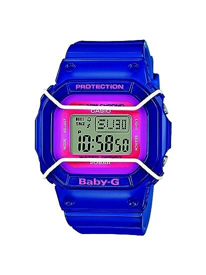 Casio Reloj Digital para Mujer de Cuarzo con Correa en Resina BGD-501FS-2ER: Amazon.es: Relojes