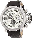 Esprit Collection Herren-Armbanduhr Uranos Chronograph Quarz Leder EL900211002