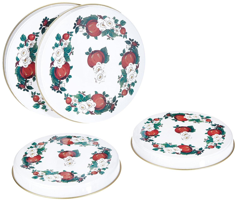 Miroir Salle De Bain Bouclair ~ 80 Off Axentia 220173 Lot De 4 Couvre Plaques Pour Cuisini Res
