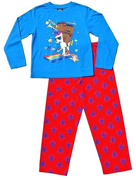 ThePyjamaFactory - Pijama dos piezas - para niño azul azul 10-11 Años