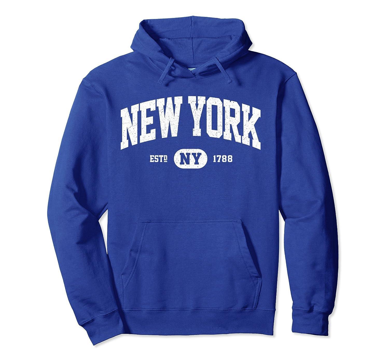 9eacf126cbb Amazon.com  NY New York Sweatshirt Retro Vintage New York Hoodie Gifts   Clothing