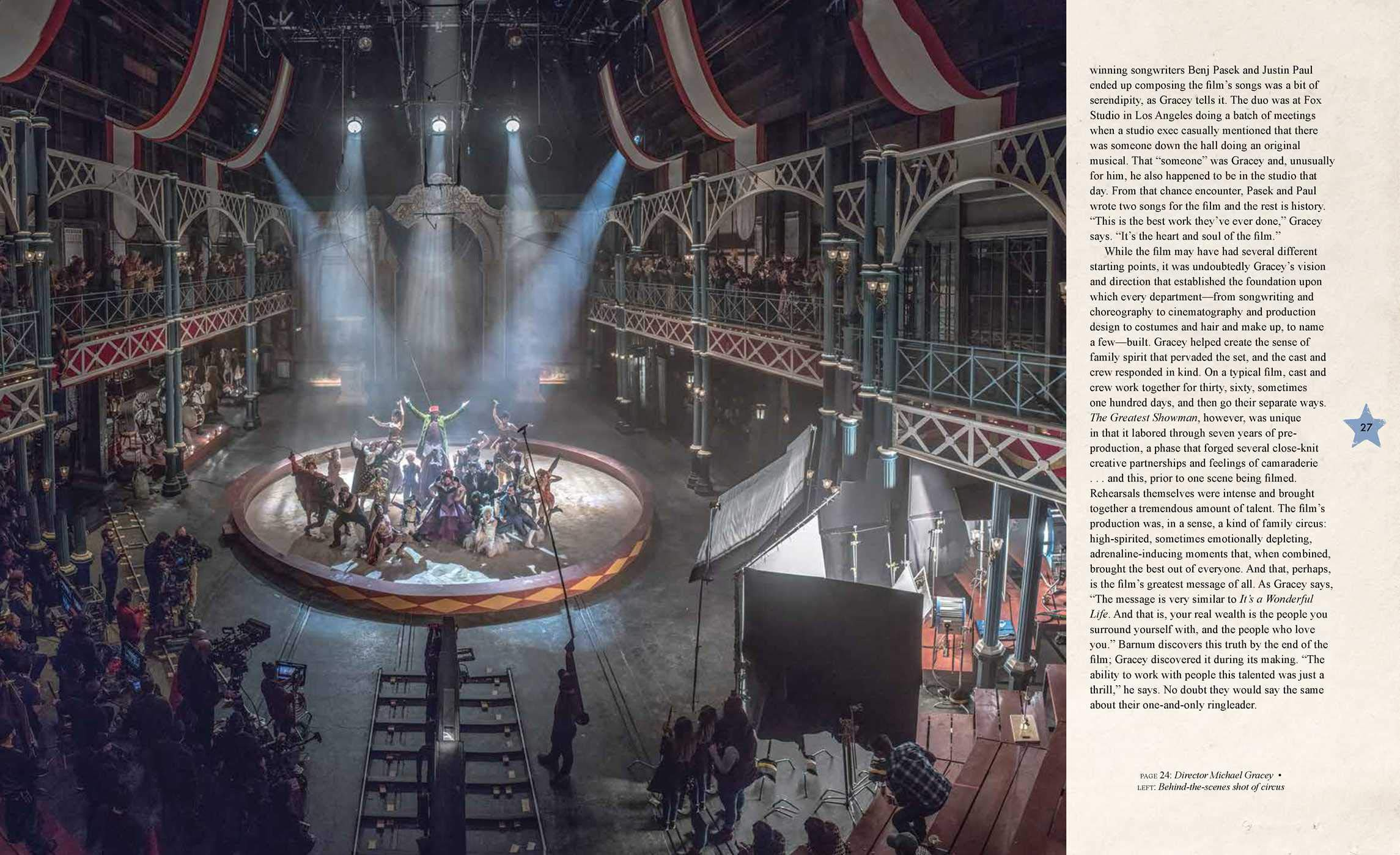 The Art And Making Of The Greatest Showman Bergstrom Signe