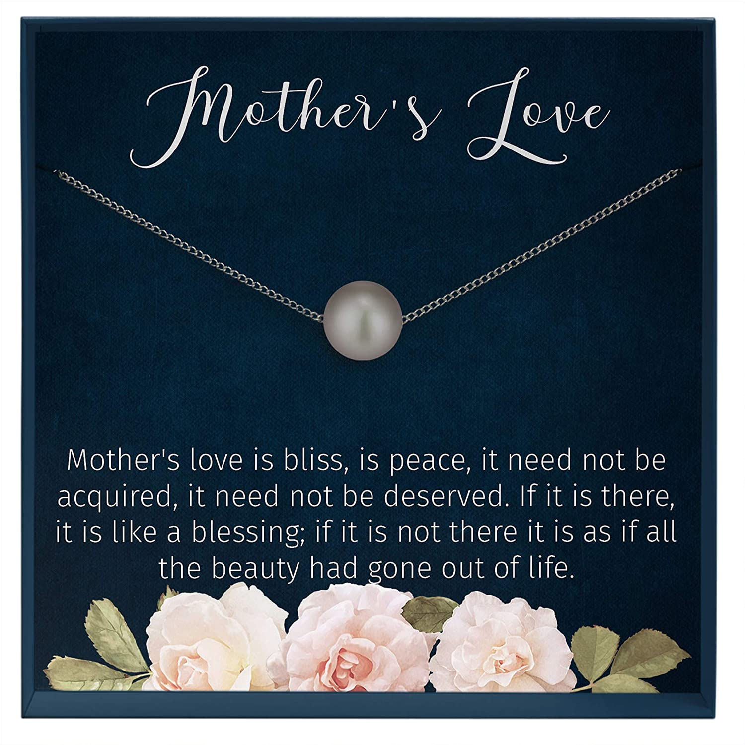 Muse Infinite Sentimental Ideas for Mom Birthday Gift from Daughter to Mom Necklace