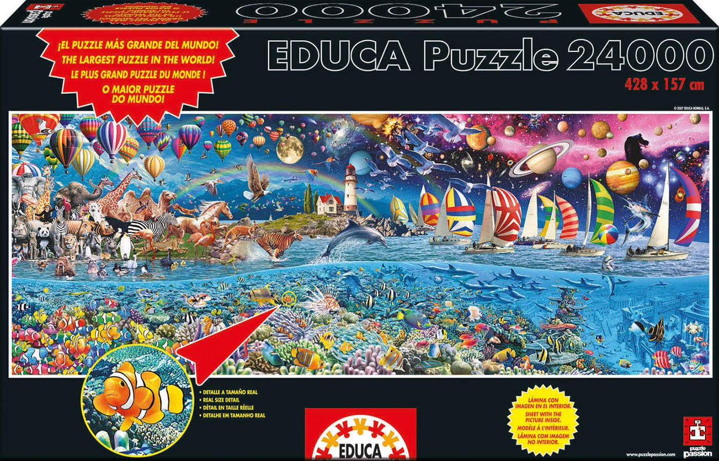 Educa Borras Life, The Greatest 24,000 Piece Puzzle
