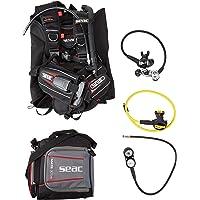 Seac Nick BC Scuba regulador Octo dos calibre consola Dive Gear el paquete