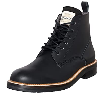 Duke's Mens Boots - Austin Leather Boot with Premium Cushion Insole: Shoes
