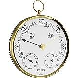 TFA Dostmann 20.3006.32 Baromètre/thermomètre/hygromètre Boîtier avec anneau en laiton 135 mm 320 g