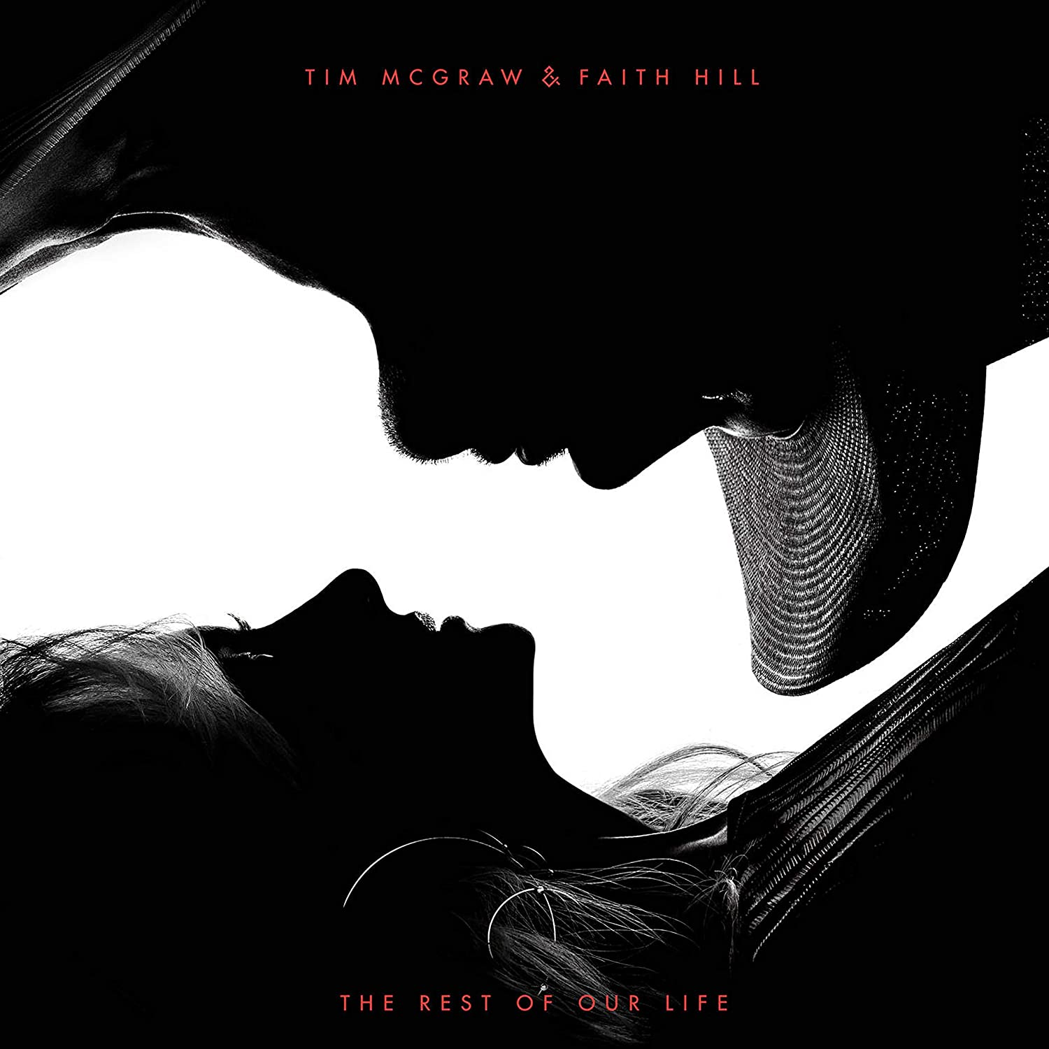 DOUBLE Z Tim McGraw /& Faith Hill The Rest of Our Life Poster Canvas Print Wall Art,20/×20 Inch