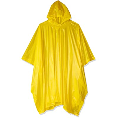 Coghlan's Lightweight Waterproof Poncho, Yellow : Camping And Hiking Equipment : Sports & Outdoors