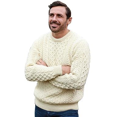 94d1e20bc9a9 Mens Irish Wool Sweater