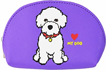 Marc Tetro Bichon Mini Cosmetic Bag