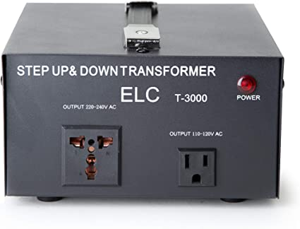 Best NEW 3000 Watt 110 to 220 Volt Voltage Converter Transformer 220v to 110v