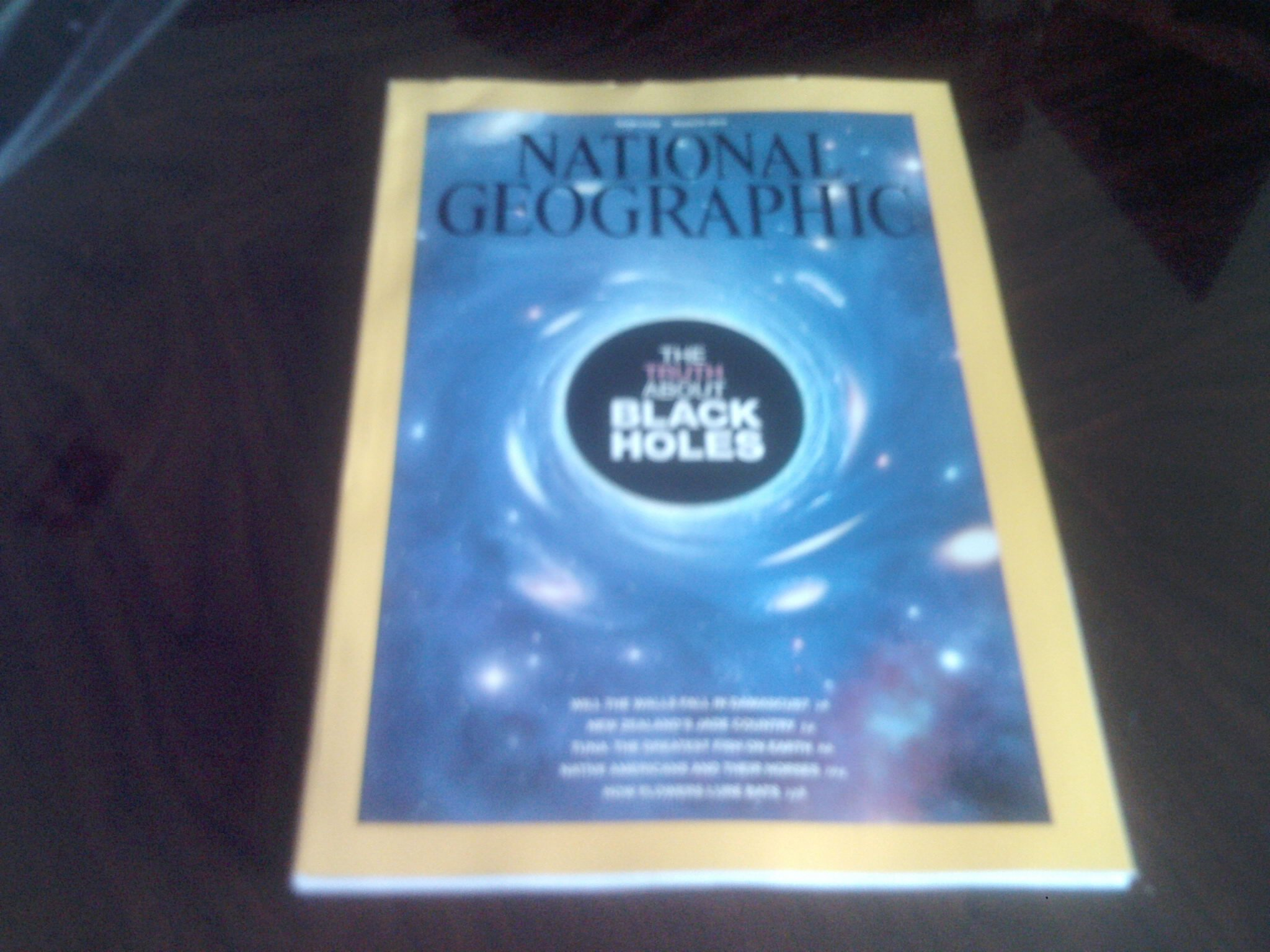 Download National Geographic Magazine (March, 2014) The Truth About Black Holes PDF