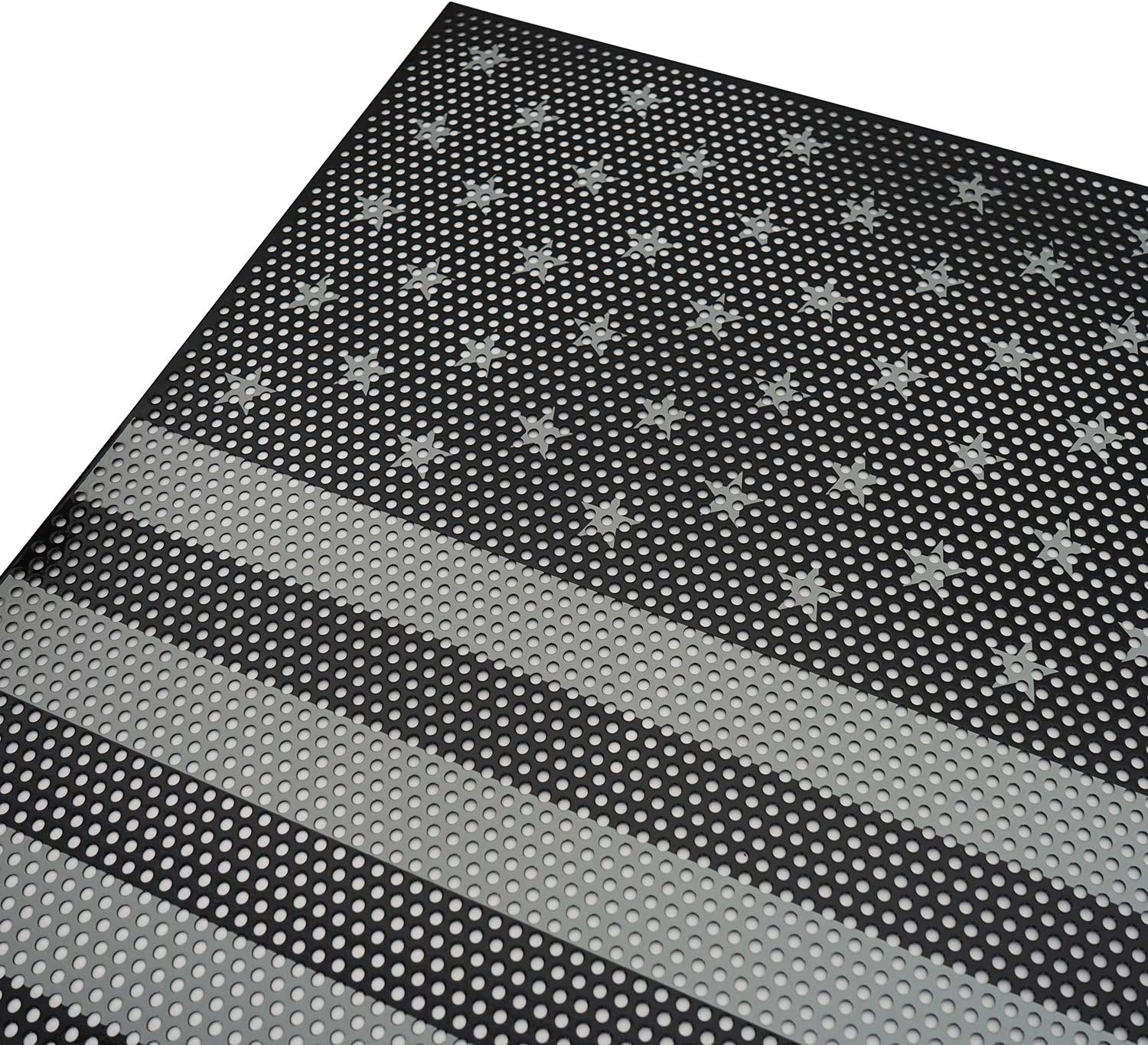 u-Box American Flag Front Mesh Grille Insert Old Glory for Jeep Gladiator JT 2020 2021