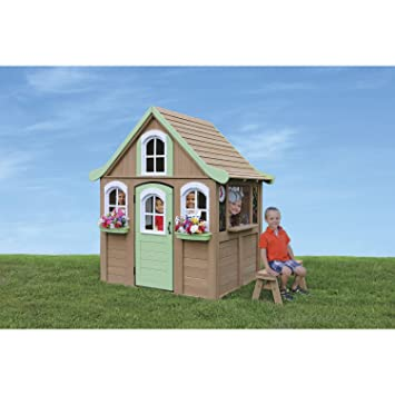 Big Backyard Forestview Wooden Playhouse By KidKraft