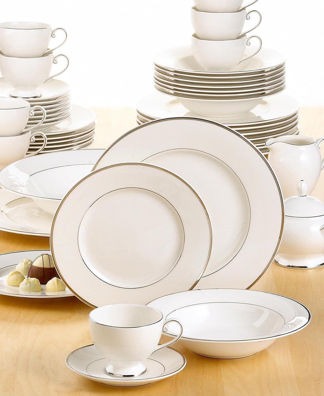 Amazon.com   Mikasa Cameo Platinum 45 Piece Set Dinnerware Sets Dinnerware Sets  sc 1 st  Amazon.com & Amazon.com   Mikasa Cameo Platinum 45 Piece Set: Dinnerware Sets ...