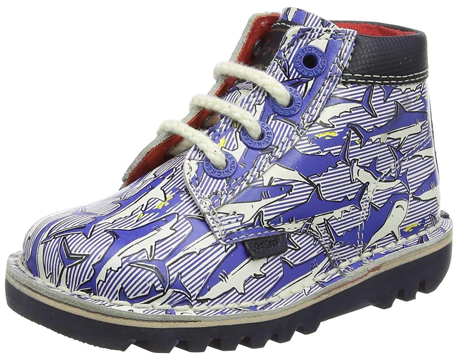 Kickers Baby Boys Joules Collaboration Kick Hi Ankle Shoes