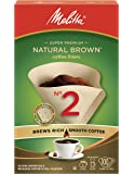 Melitta 622850 #2 Cone PA2-100 NB Filter Paper, Green (Packaging May Vary)