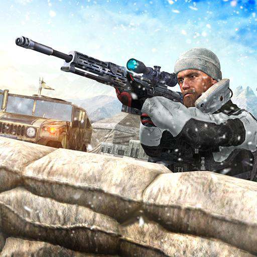 - World War Winter Sniper Assault Battle Rules of Survival Shooter Arena: Shot & Kill Terrorist Attack In Battle Simulator Action Adventure Thrilling 3D Game